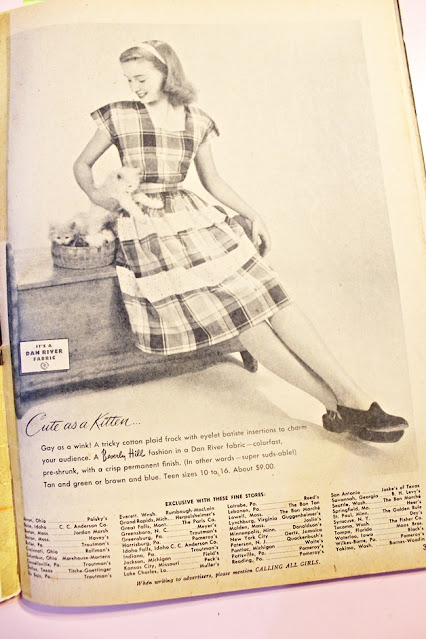 1940s teen fashion magazine