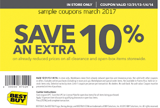 Best Buy coupons march 2017