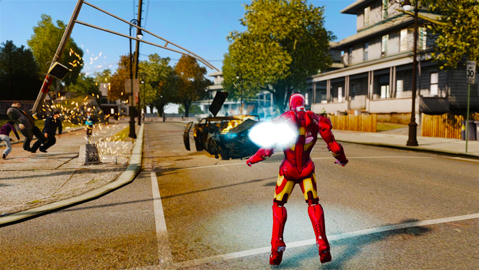 GTA 4 Iron Man Mod Download 2021   GTA IV Mods