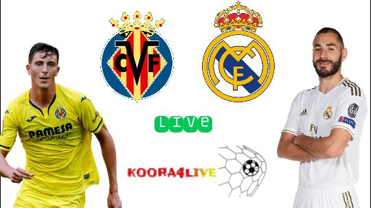 مشاهدة مباراة ريال مدريد و فياريال في بث مباشر...مباراة قوية ... حسم اللقب