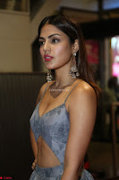 Rhea Chakraborty in a Sleeveless Deep neck Choli Dress Stunning Beauty at 64th Jio Filmfare Awards South ~  Exclusive 132.JPG