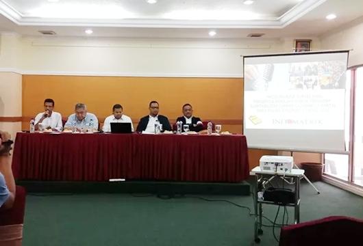 Survei Indomatrik: Jokowi-Ma'ruf dan Prabowo-Sandi Selisih Tipis