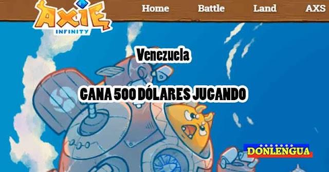 Venezuela se une a la fiebre del jugo Axie Infinity para ganar más de 500 dólares mensuales