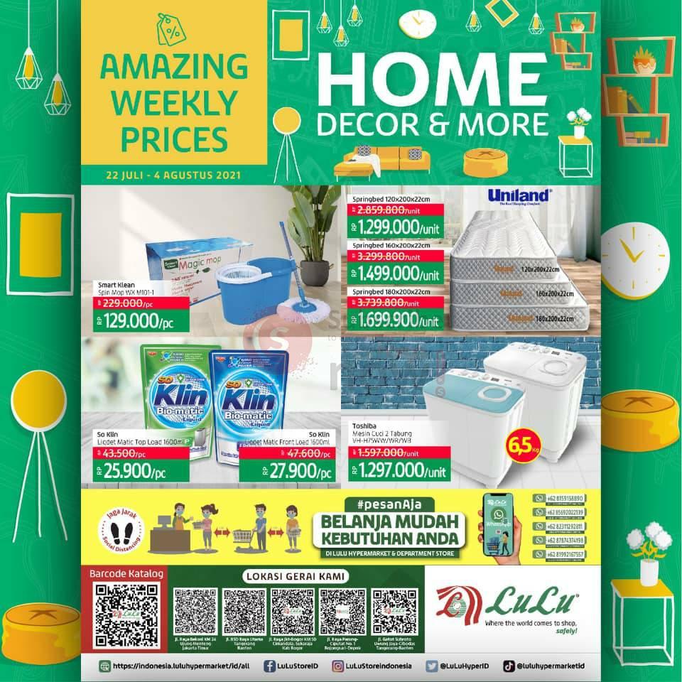 Katalog Promo LULU Supermarket 22 Juli - 4 Agustus 2021