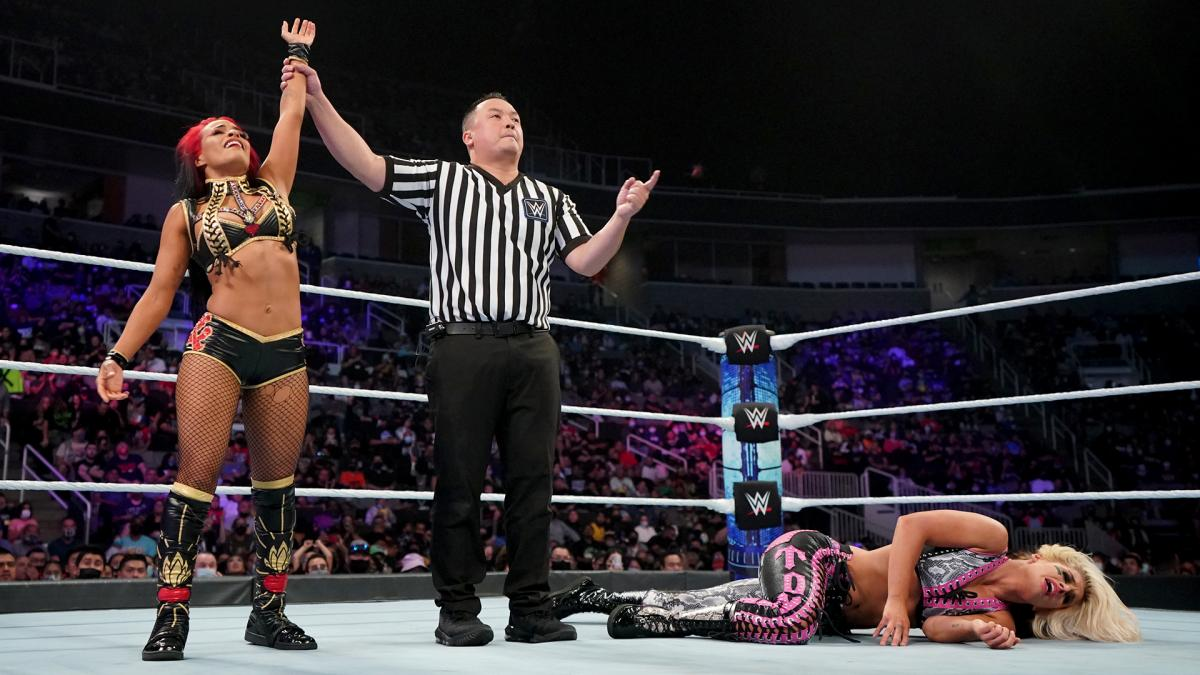 Definida a primeira semifinal do WWE Queen's Crown Tournament