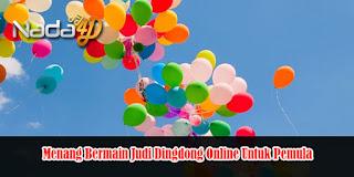 Menang Bermain Judi Dingdong Online Untuk Pemula