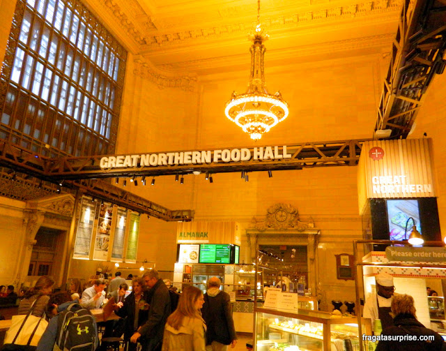 The Great Northern Food Hall, mercado gastronômico na Grand Central Station de Nova York