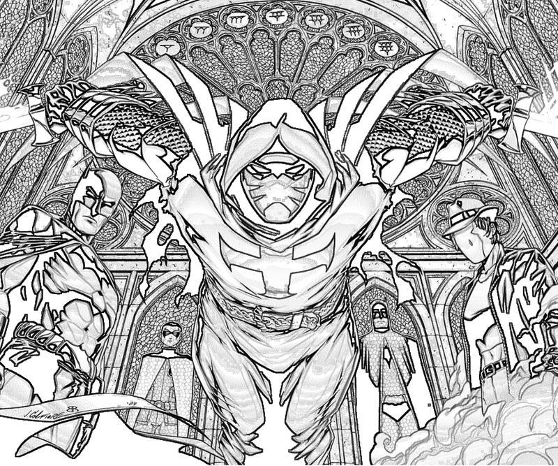 Batman Arkham City Azrael Weapon | Yumiko Fujiwara