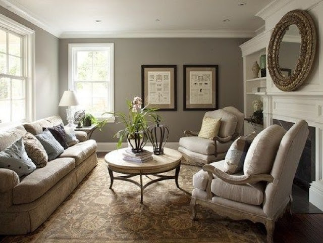 Peaceful Design North Facing Living Room Colour Ideas