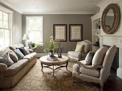 Peaceful Design North Facing Living Room Colour Ideas