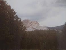 Crazy Horse Memorial, the mountain