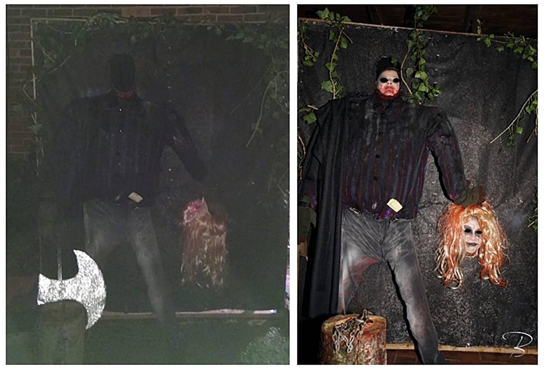 Halloween Fotowand.Billes Bastelblog Bastel Dir Lebensfreude Tolle