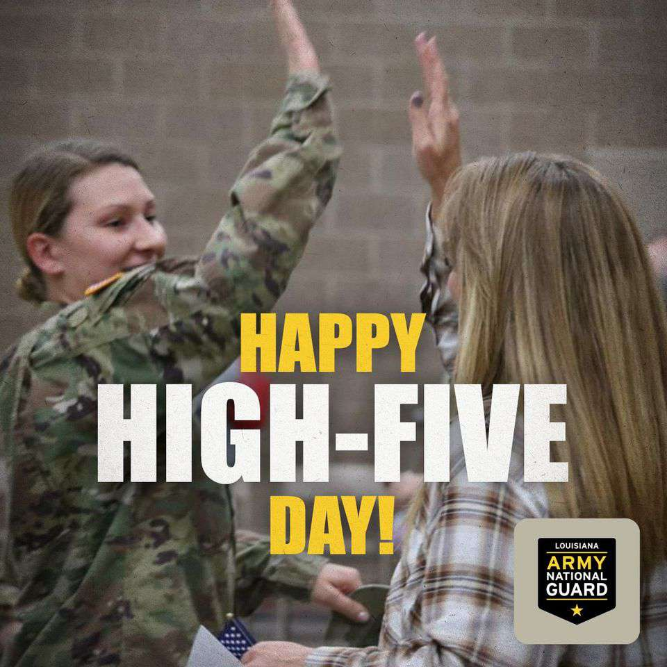 National High Five Day Wishes Awesome Images, Pictures, Photos, Wallpapers