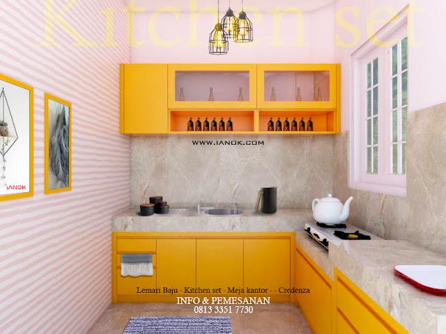 Desain dan jasa Pembuatan kitchen set surabaya