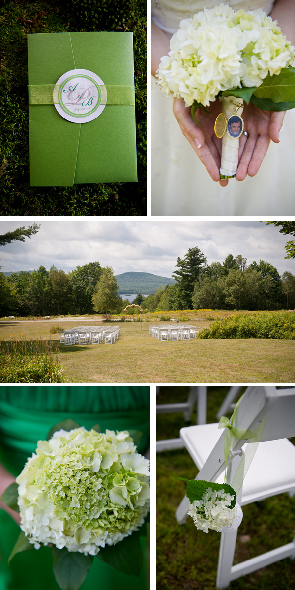 green DIY woodsy wedding | ashley therese photography