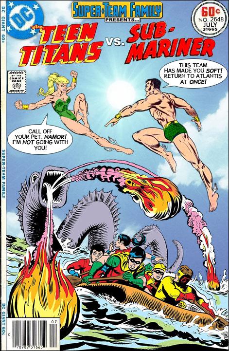 Teen Titans Versus