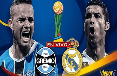Gremio coontra Real Madrid se enfrentan en Abu Dhabi por la final del Mundial de Clubes 2017.