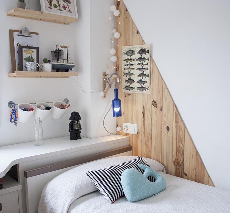 Reciclando con Ikea: Diy lámpara con botella de cristal1