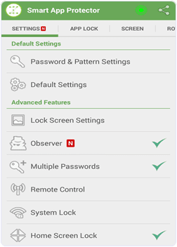 android Smart App Protector app