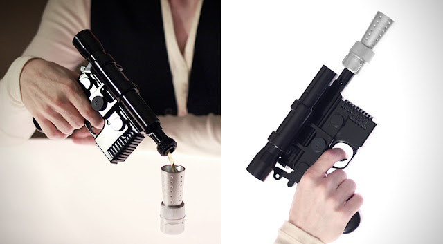 HAN SHOT FIRST | HAN SOLO BLASTER FLACHMANN - First Shot DL4.4oz