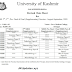 University Of Kashmir Revised Date Sheet For MBBS