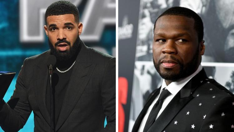 """50 Cent diz que Drake é genial e revela """"método"""" do rapper"""