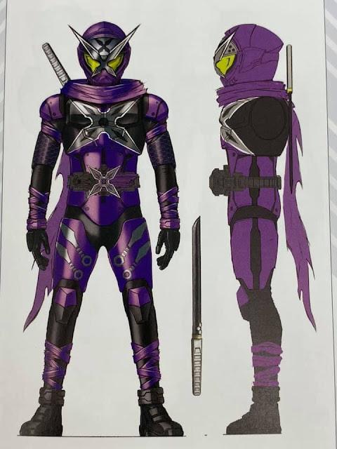 Kamen Rider Zi-O Future Riders Concept Arts!