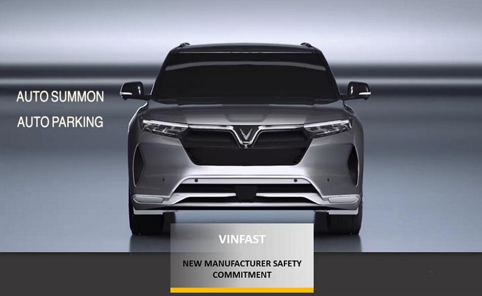 """VinFast nhận giải thưởng """"Hãng xe mới có cam kết cao về an toàn"""""""