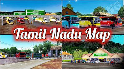 Tamil Nadu Map ETS2 1.36-40