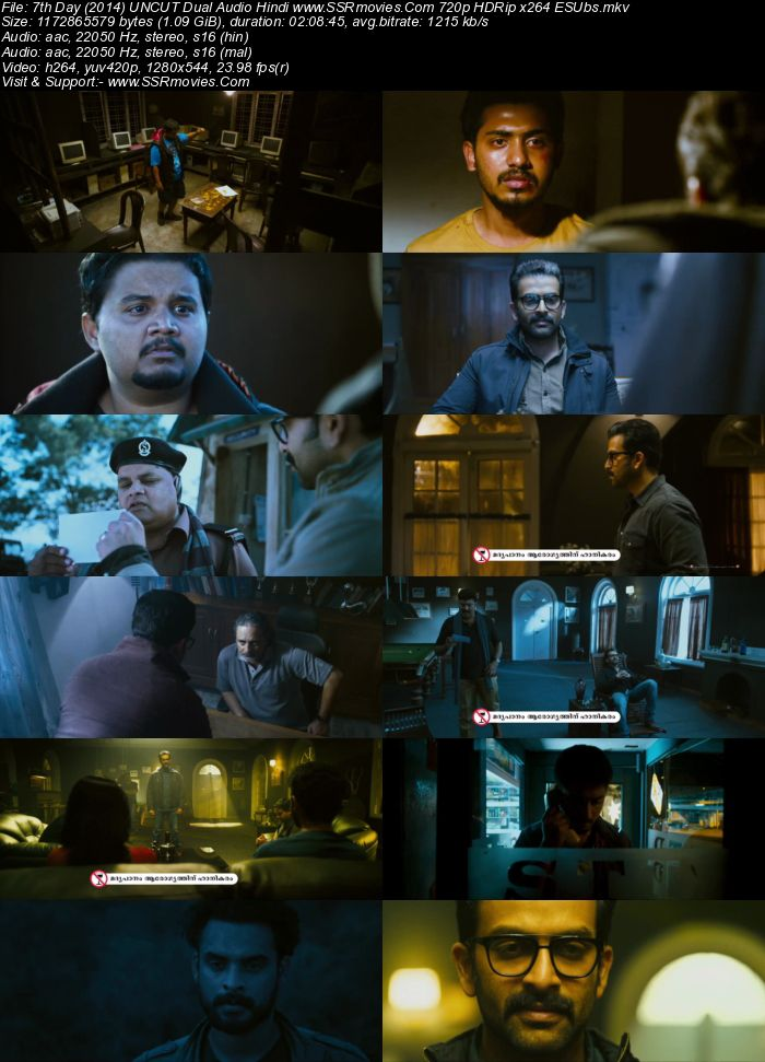 7th Day (2014) UNCUT DUal Audio Hindi 720p HDRip x264 1.1GB Movie Download
