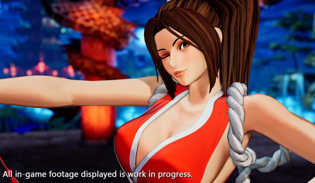 Mai King Of Fighters XV
