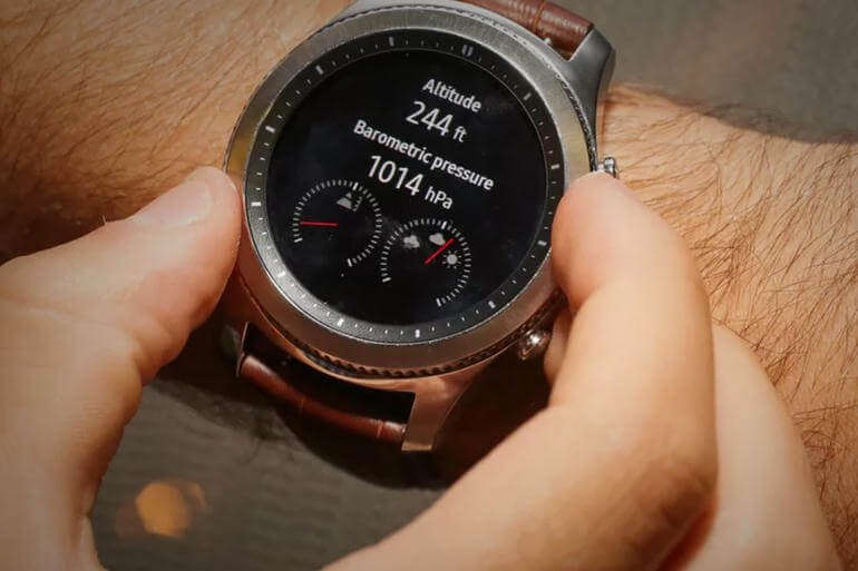 Tizen OS on Gear S3 Frontier