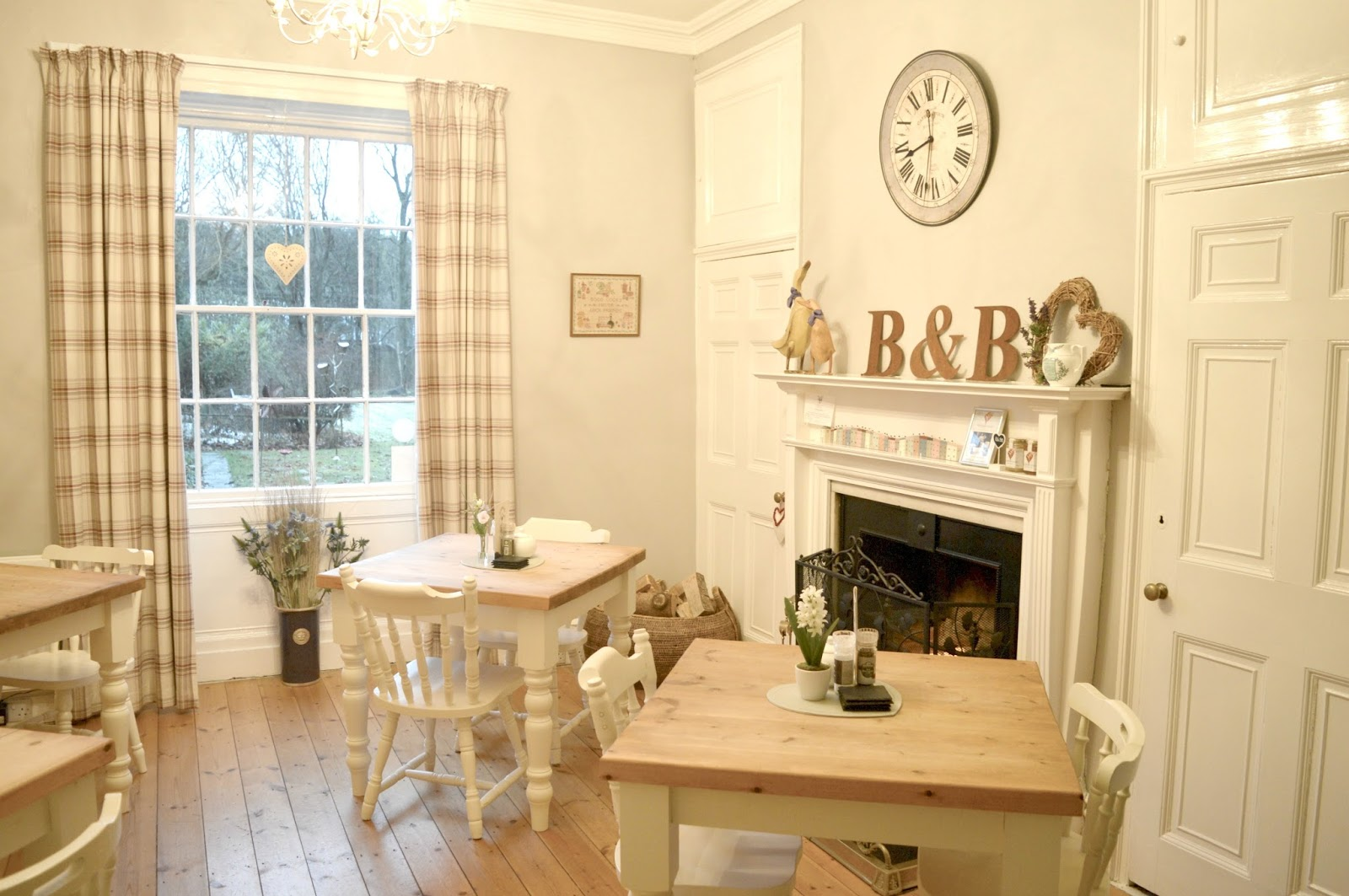 The Grange Bed and Breakfast in Northumberland - Breakfast Room