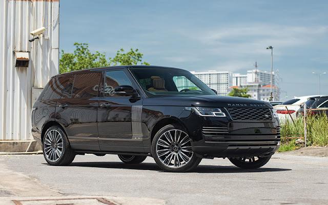 Range Rover lái linh hoạt và kiểm soát thân xe cực tốt