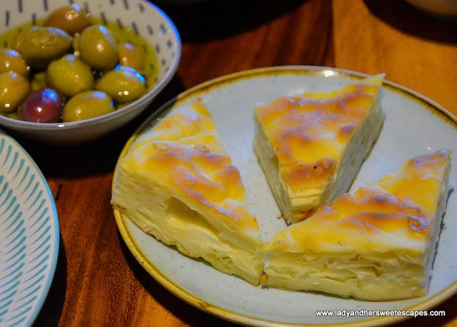 borek pastry in Gunaydin
