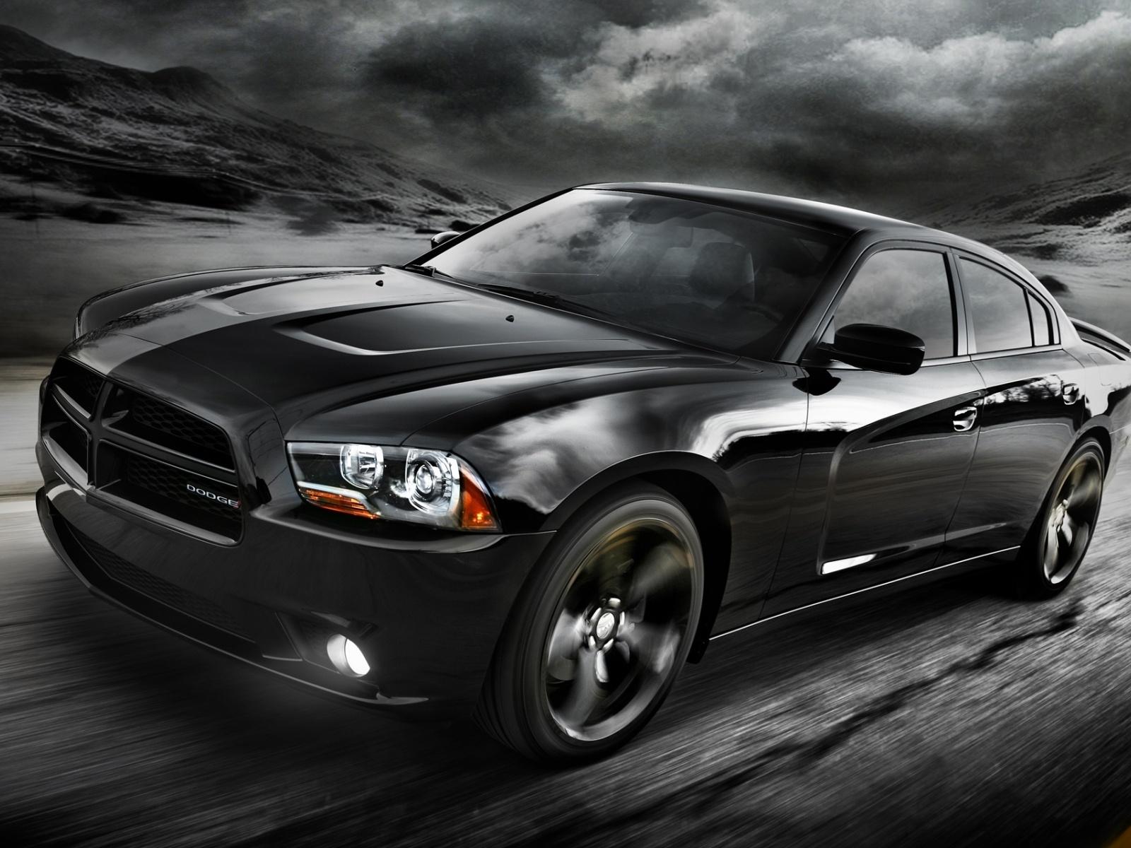 2012 dodge black car 1600x1200