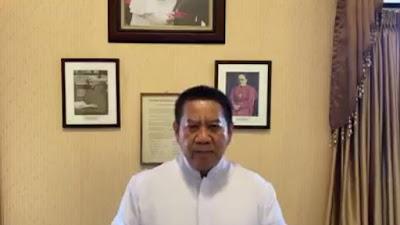 VIDEO, Ledakan di Gereja Katedral Makassar, Kuria Keuskupan Agung Umumkan Misa Minggu Palma Dibatalkan