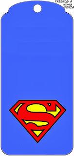 Para marcapáginas de Símbolo de Superman.