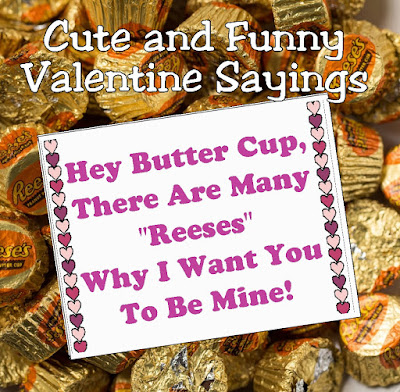 "Pass out the best class valentine's this year with these cute and funny sayings for Valentines. With ideas like ""I'm nuts over you"" to ""Your Friendship Makes My Heart Pop"" you'll find the best treat for your loved ones."