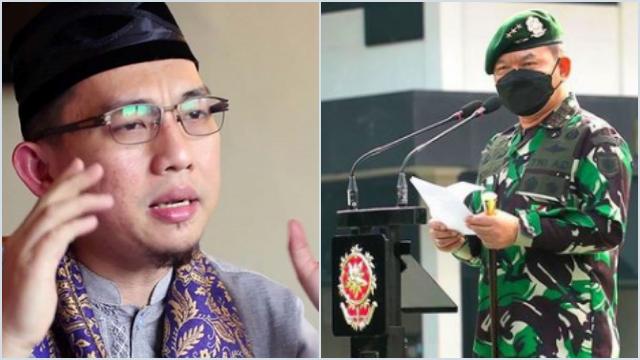 Pangkostrad Dudung Minta Prajurit TNI Tidak Fanatik Agama, Ustaz Hilmi Minta Penjelasan