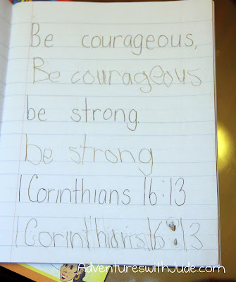 Be Courageous, Be Strong 1 Cor. 16:13