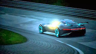 Mercedes-Benz designers have developed the visionary concept of a super sports car