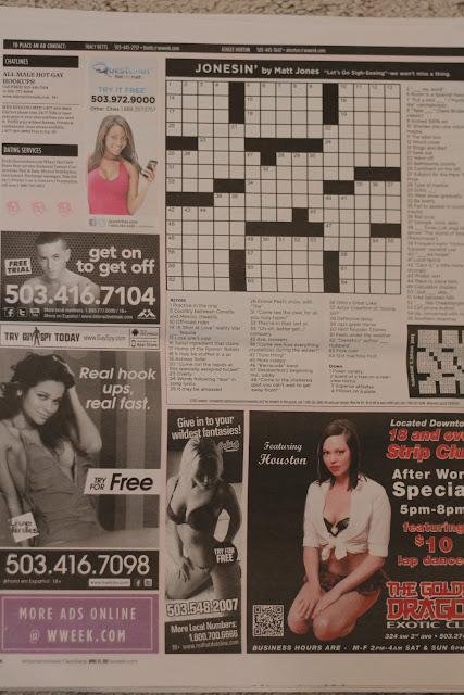 Sex Crossword Puzzle 81