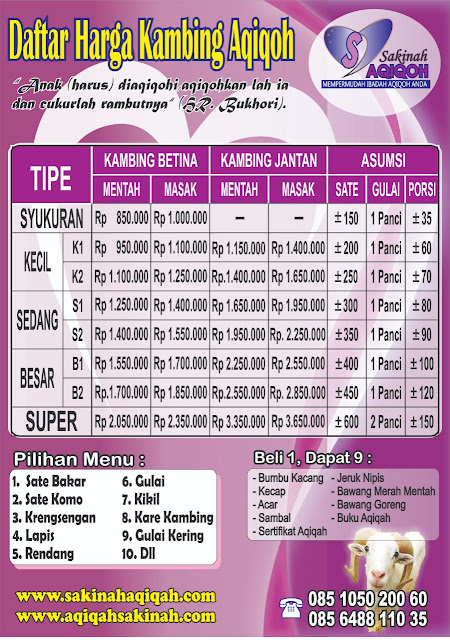 Daftar Aqiqah Di Surabaya, Paket Aqiqah Wilayah Sidoarjo, Paket Aqiqah Murah Di Surabaya, Aqiqah Kambing Atau Sapi