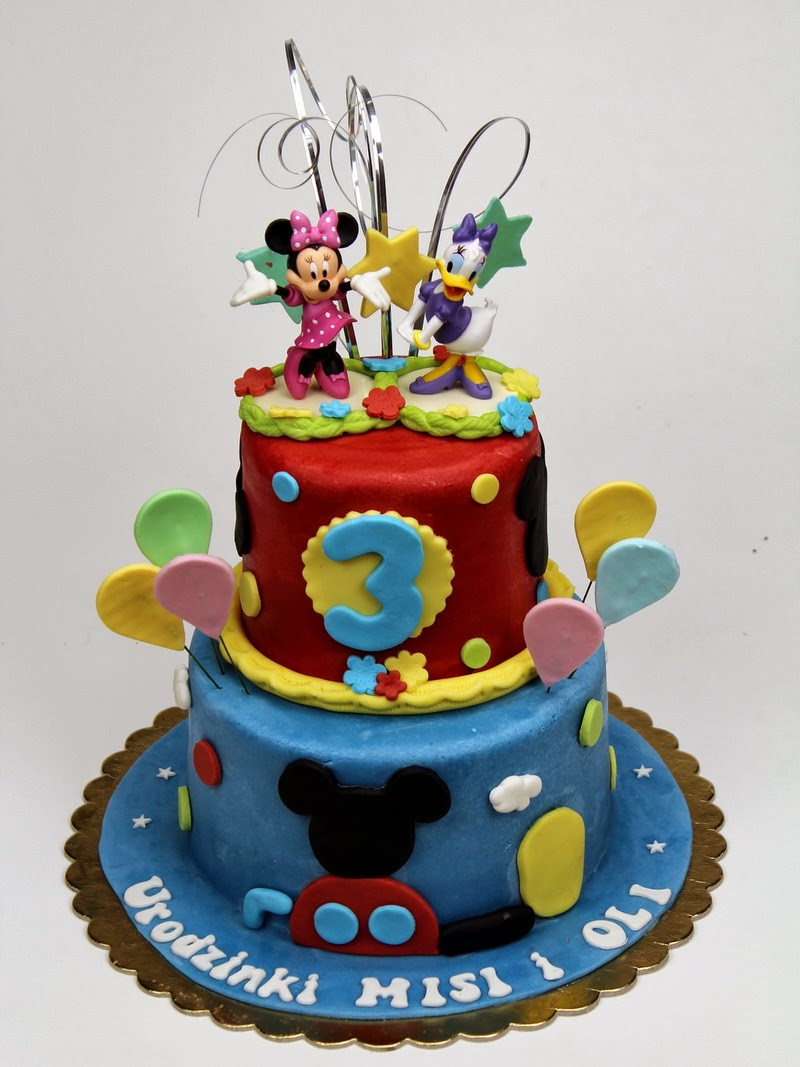 Mickey Mouse Clubhouse Birthday Cake in London