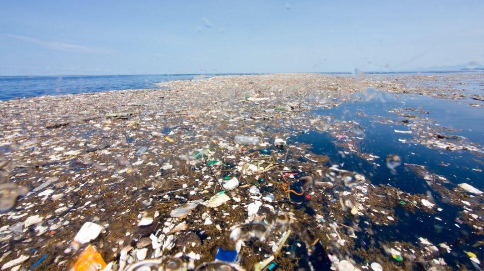 Lautan sampah plastik