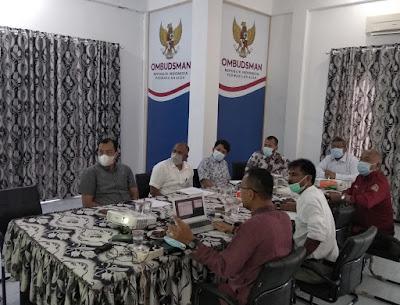 Ombudsman Rakor Bersama BPN untuk Selesaikan Laporan Masyarakat