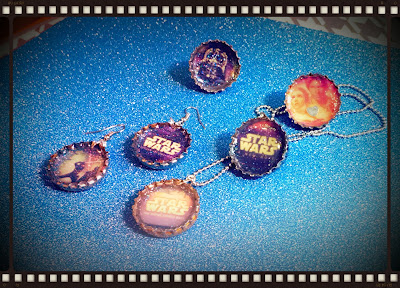 Star Wars Bottle Cap Jewelry