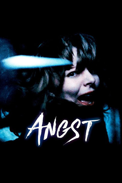 "Movie poster for Gerald Kargl's 1983 film ""Angst"""