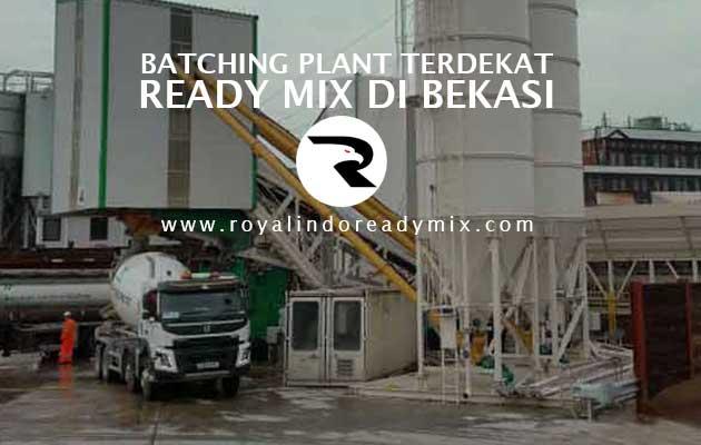 Batching Plant Beton Ready Mix Bekasi